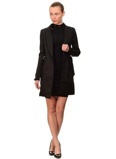 Missguided Missguided Blazer Görünümlü Elbise Siyah